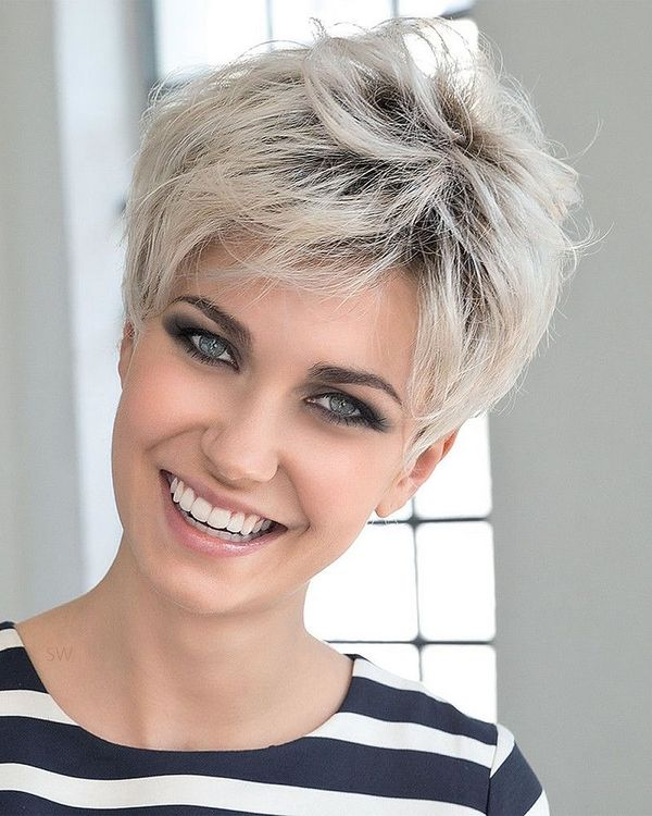 New Hair Coloring Ideas for Very Short Hair 2