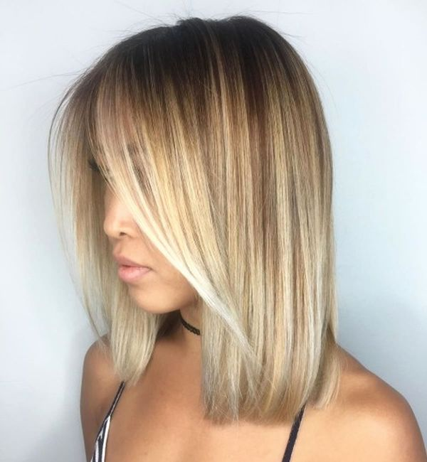 Pictures of blunt long bob hairstyle 1