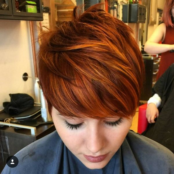 Sexy Short Red Hairstyles For Red Headed Women 3