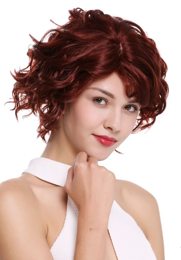 Short Haircuts For Women With Auburn Red Hair Color 2