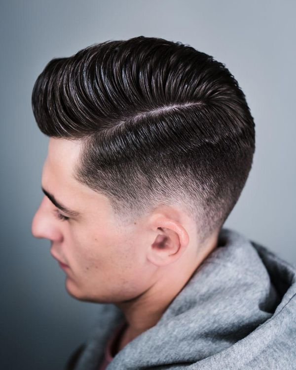 Side Part Pompadour to Try 2