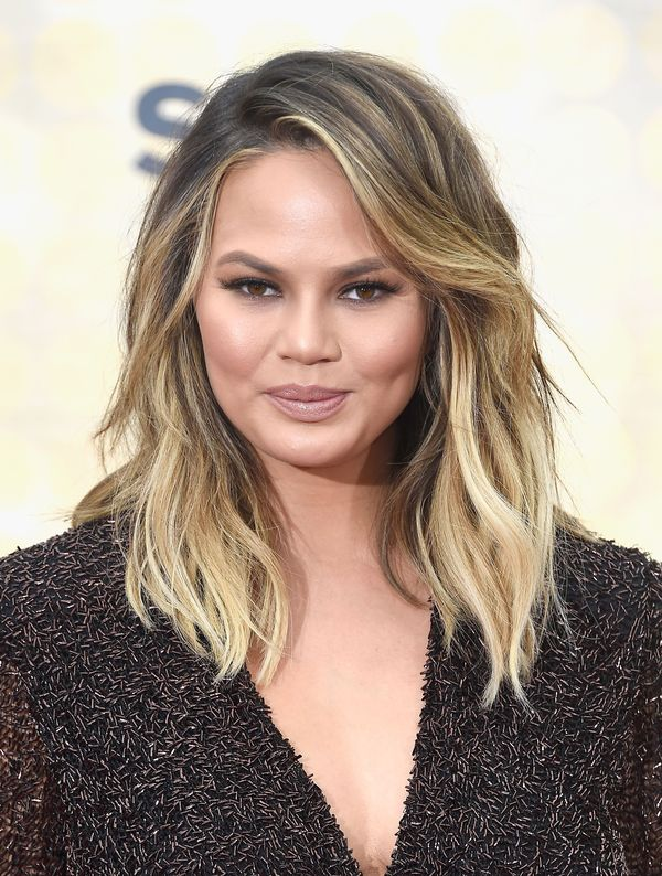 Stylish Long Layered Bobs With Side Swept Bangs 7