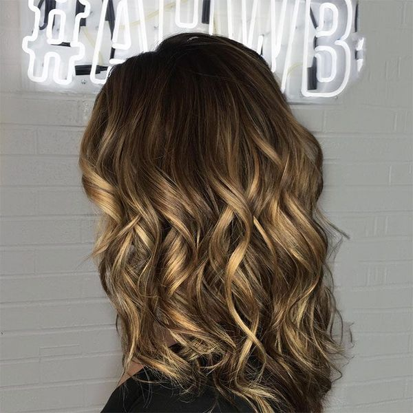 The Best Brown Balayage On Curly Hair 1