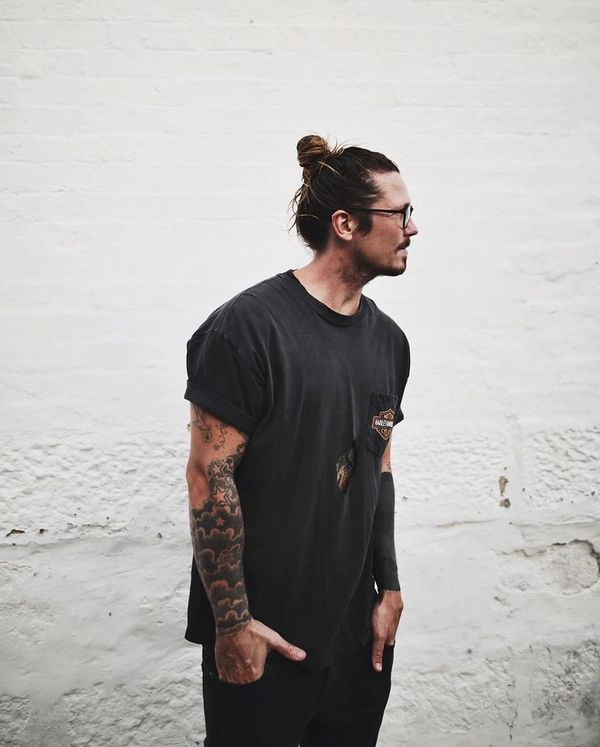 The Best Top Knot Men Styles to Try 1