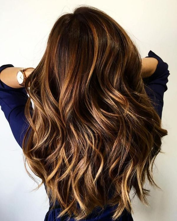 The best caramel highlights for brown hair 1