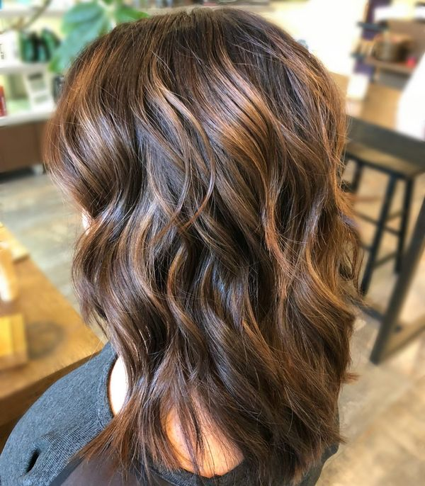 The best caramel highlights for brown hair 3