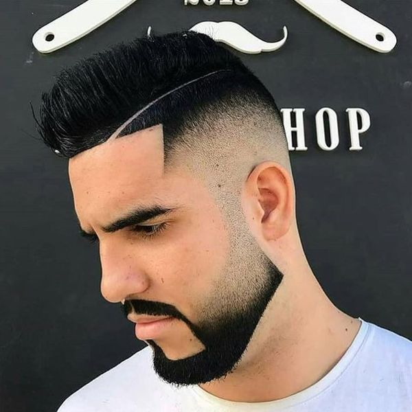 The best ideas for shaved part in hair 2
