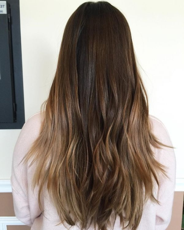 Top Balayage Styles for Long Brown Hair 2