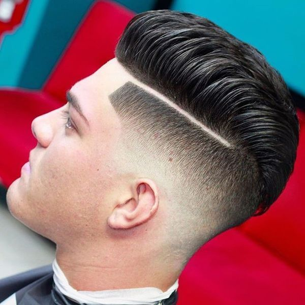 Top male haircuts with hard part 1