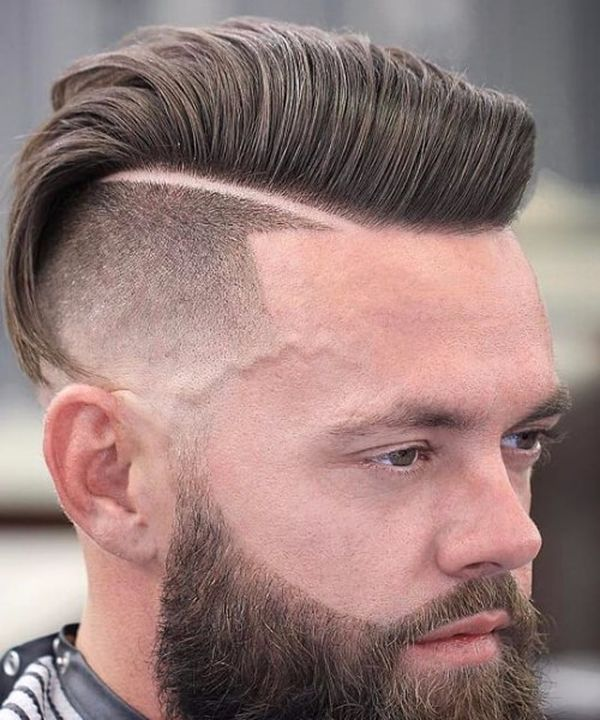 Top male haircuts with hard part 4