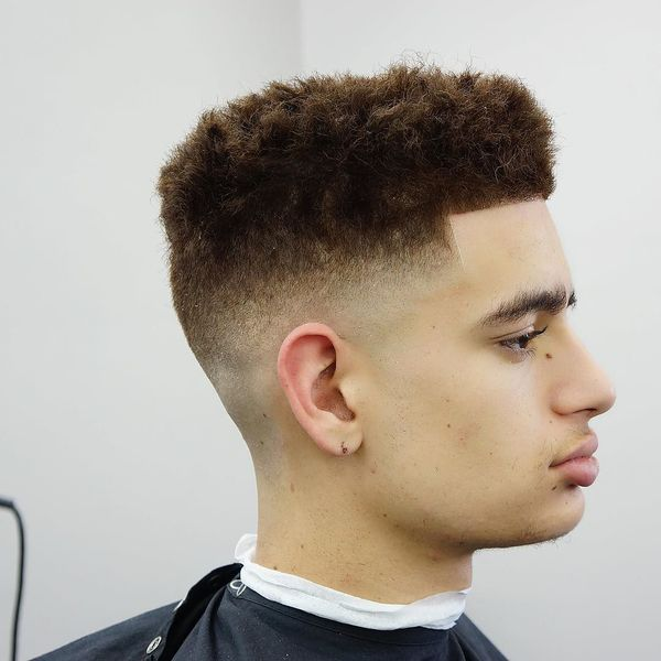 Trendy Blowout Fade Hairstyles 2