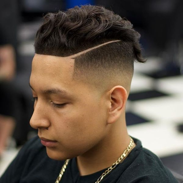 What is a line up haircut 3