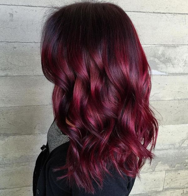 Wine olored Hair 3