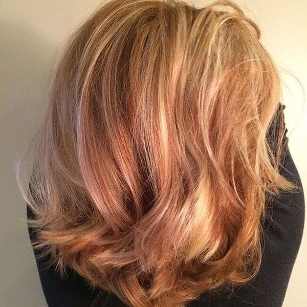 Great Blonde Hair Cuts With Red Highlights 3