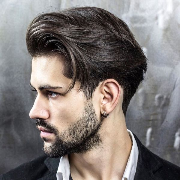 Male 50s Hairstyles for Long Hair 4