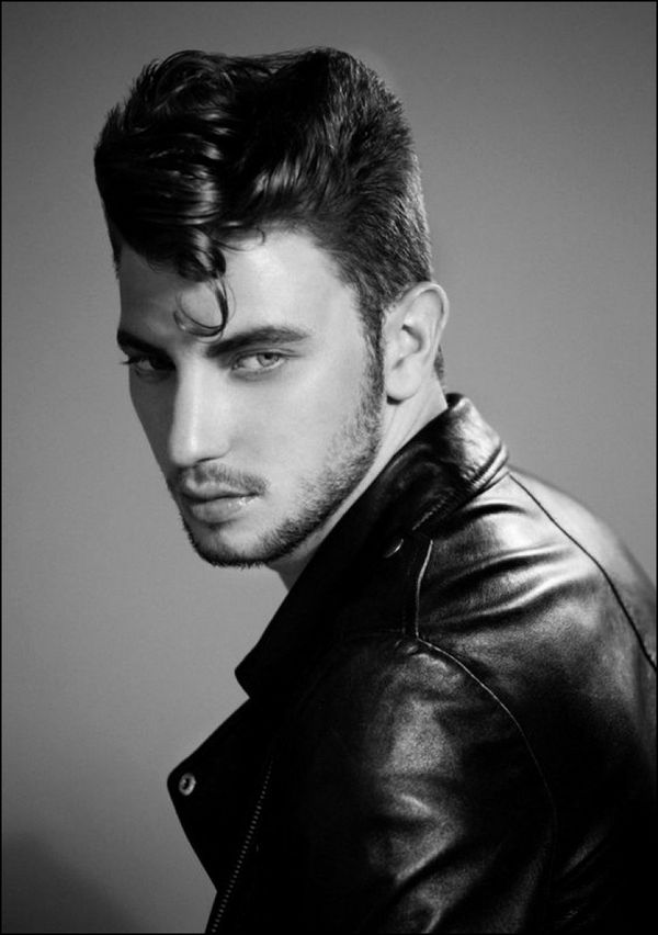 Meet a Popular Hair Style From the 50s Male Pompadour 4