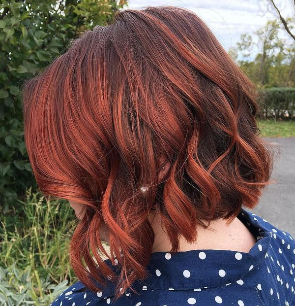 What About Awesome Reddish Highlights For Your Dark Hair 1