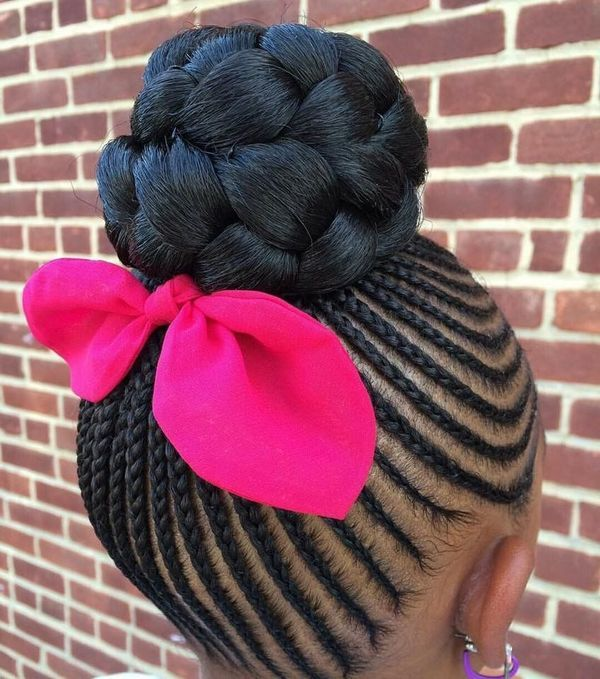 Cute Hairstyles with Braids for Kids 4