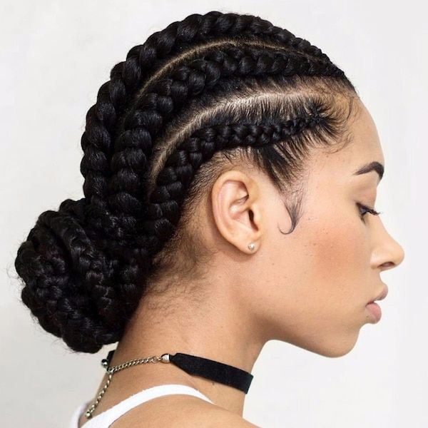 Awesome Big and Thick Cornrows 3