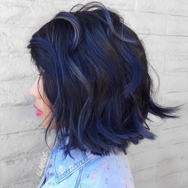 How to get blue black hair? 3