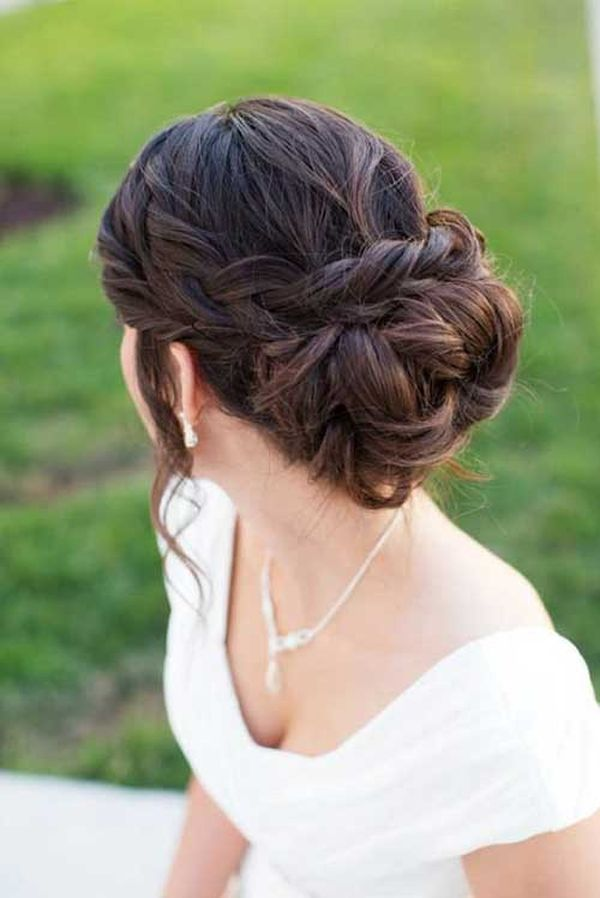 Pinned up Hairstyles for Long Hair 5