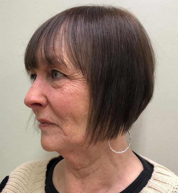 Beautiful Short Hairstyles for Fine Hair over 70 3