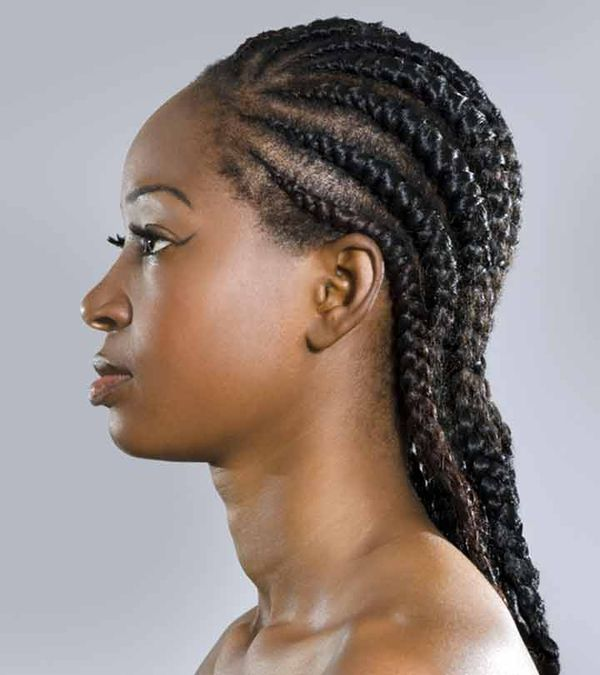 Awesome Big and Thick Cornrows 4