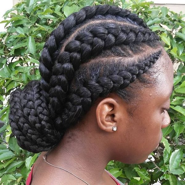 Awesome Big and Thick Cornrows 2