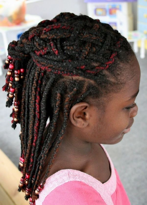 Cool Ideas for Little Kids Braids with Weave 2