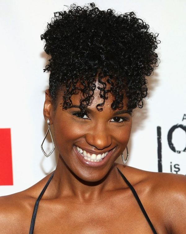 30 Updos For Natural Hair Trending In