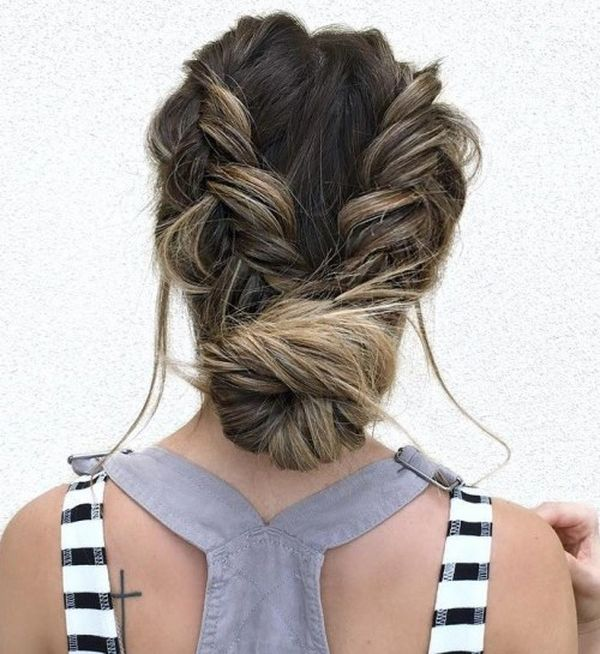 The Best Low Updo for Long Hair 3