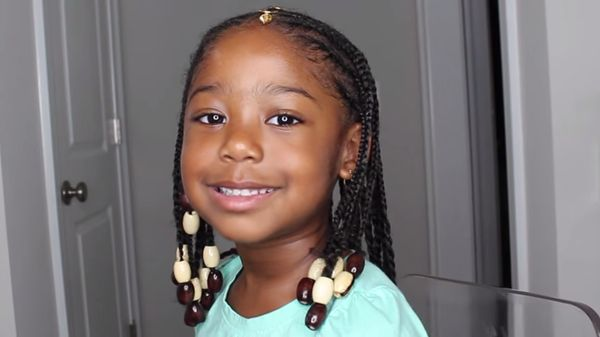 Kids Hair Braided Hairstyles with Beads 4