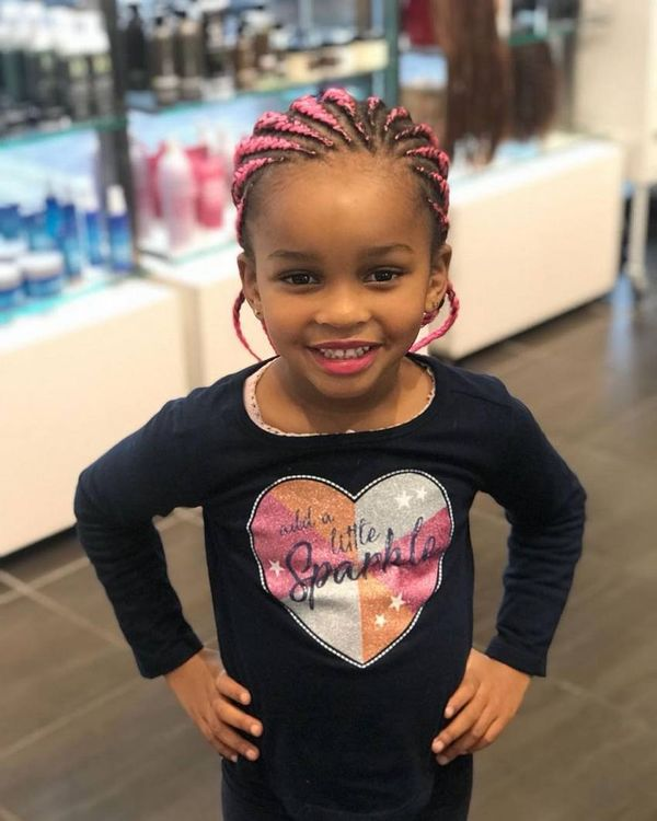 Children's Braids: Black Hairstyles 3