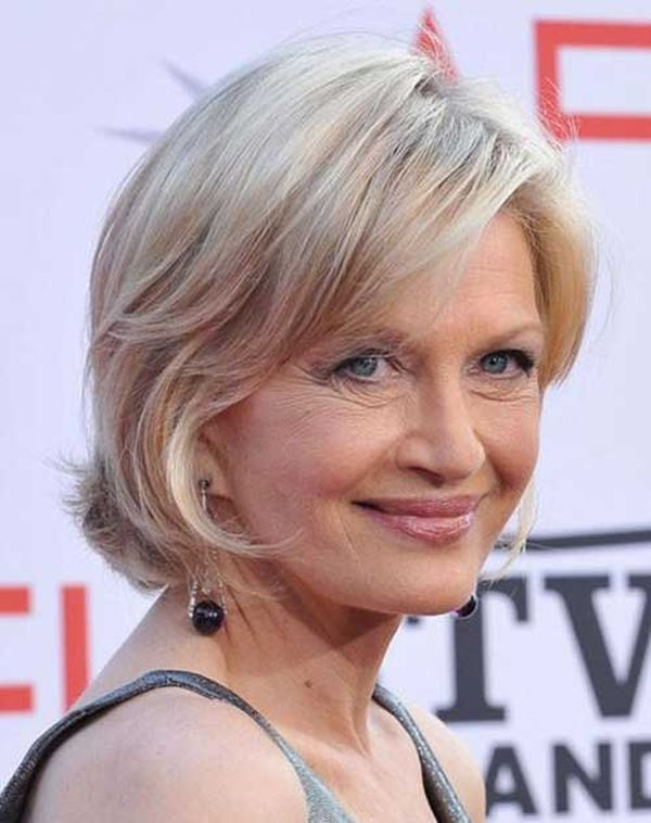 Beautiful Short Hairstyles for Fine Hair over 70 1
