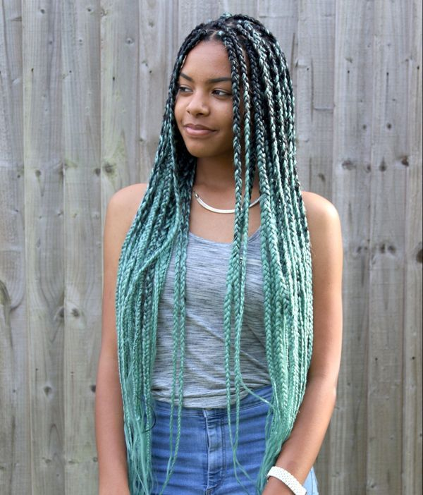 Ideas of Individual Braids with Color 4
