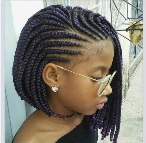 African Cornrow Designs for Short Hair 1