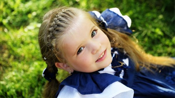 Simple One Braid Styles for Kids 3