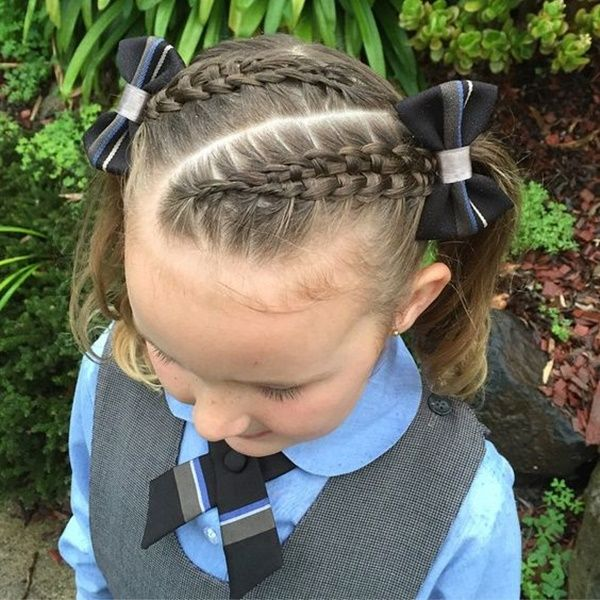 Cute Hairstyles with Braids for Kids 3