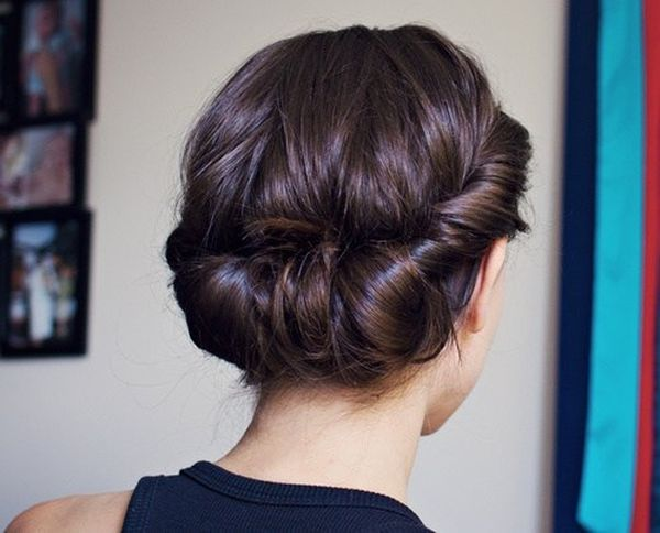 The Best Low Updo for Long Hair 1