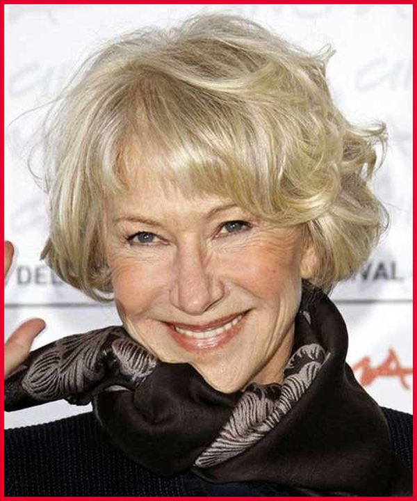Popular Hairstyles for Women over 70 and 80 2