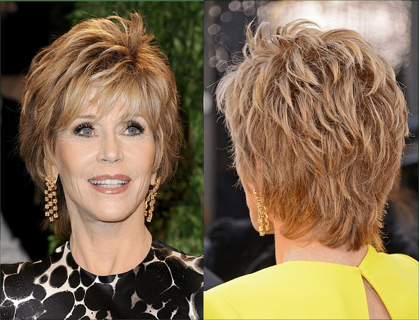Easy Short Haircuts for Women over 70 2