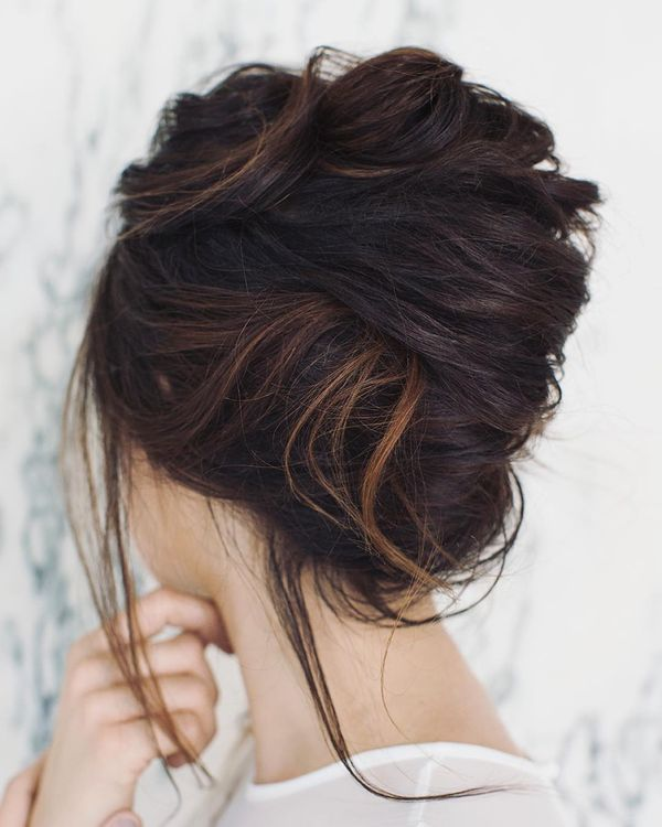 Pinned up Hairstyles for Long Hair 4