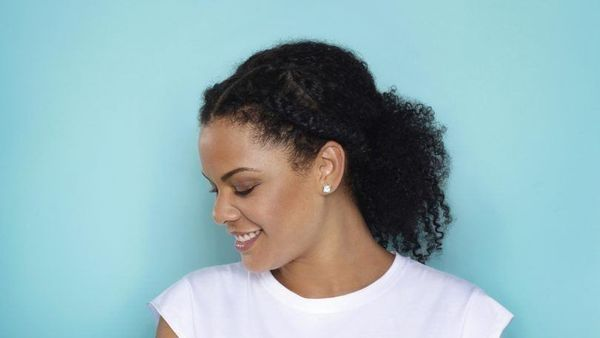 Easy Updos for Natural Black Hair 2