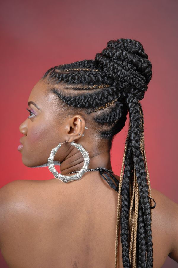 The Best Braided Updos for Natural Hair 1