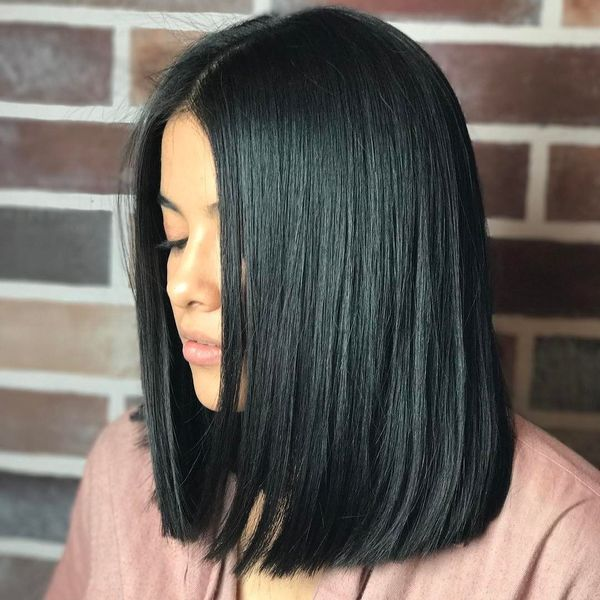 The blunt lob cut to try 2