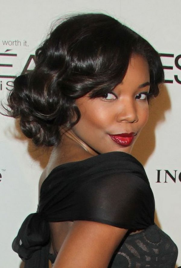 The Pictures of Black Bridesmaid Hairstyles 3