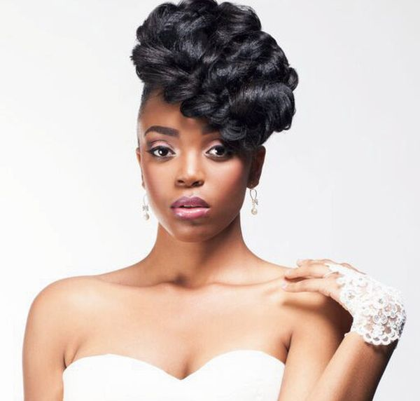 Top Wedding Updo Black Hairstyles to Try 1