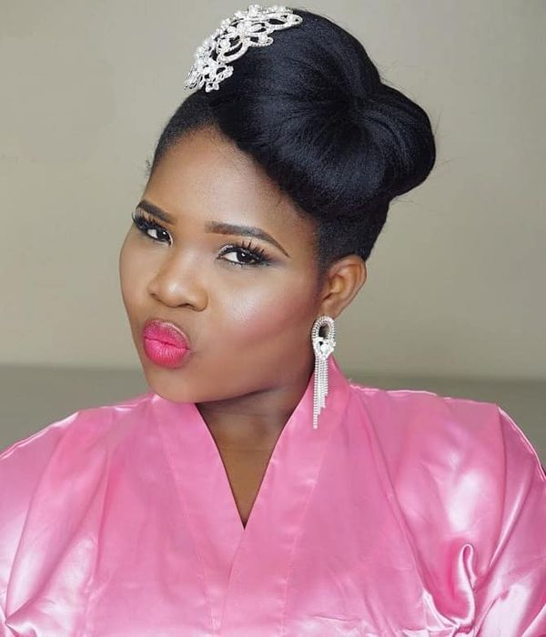 The Pictures of Black Bridesmaid Hairstyles 1